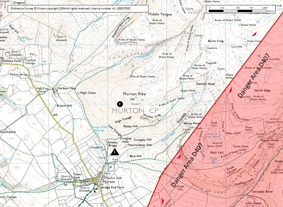 Murton Pike Map
